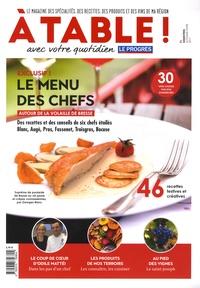 Manuel da Fonseca - A table ! N°1, automne-hiver 2 : Le menu des chefs autour de la volaille de Bresse.