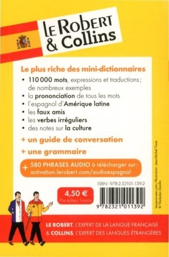 Le Robert & Collins espagnol. Français-Espagnol Espagnol-Français