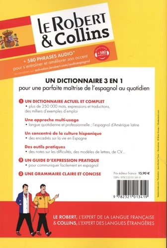 Le Robert & Collins Maxi espagnol-français et français-espagnol