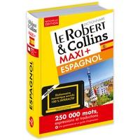 Lesmouchescestlouche.fr Le Robert & Collins Maxi+ espagnol-français et français-espagnol - Avec carte de téléchargement Image