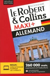 Le Robert & Collins - Le Robert & Collins Maxi + français-allemand / allemand-français.