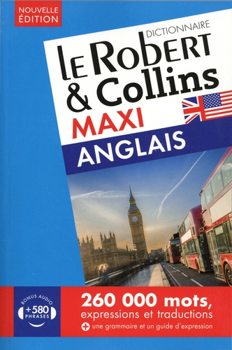 Le Robert & Collins maxi français-anglais et anglais-français