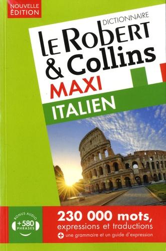 Le Robert & Collins - Le Robert & Collins maxi italien - Français-italien ; italien-français.