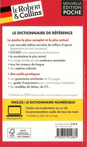 Le Robert & Collins poche allemand. Français-allemand ; Allemand-français 8e édition