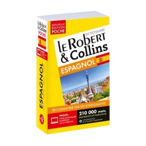 Le Robert & Collins Poche Espagnol. Français-espagnol/espagnol-français 8e édition