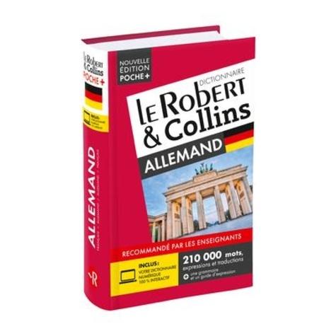 Robert et Collins poche + allemand  Edition 2021