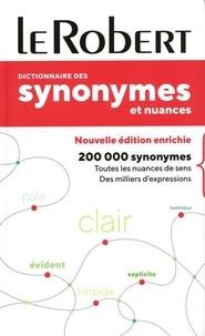 Le Robert - Dictionnaire des synonymes et nuances poche +.