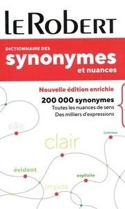 Le Robert - Dictionnaire des synonymes et nuances.