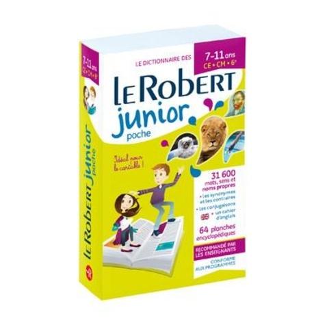Le Robert - Le Robert Junior poche.