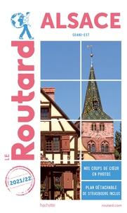 Le Routard - Alsace (Grand Est). 1 Plan détachable