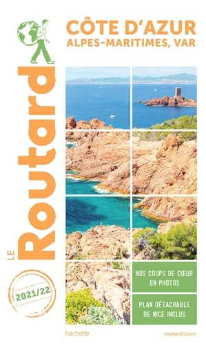 Le Routard - Côte d'Azur. 1 Plan détachable