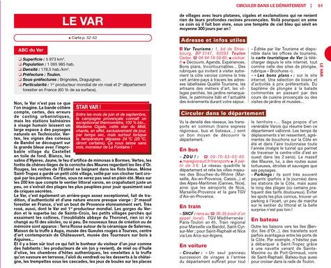 Côte d'Azur  Edition 2020 -  avec 1 Plan détachable