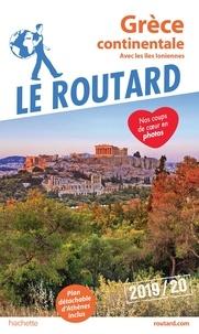 Le Routard - Grèce continentale - Avec les îles Ioniennes. 1 Plan détachable