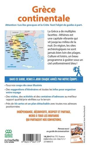 Grèce continentale. Avec les îles Ioniennes  Edition 2019-2020 -  avec 1 Plan détachable
