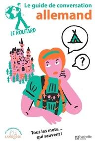 Le Routard - Le guide de conversation allemand.