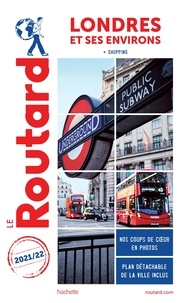 Le Routard - Londres et ses environs - + Shopping. 1 Plan détachable