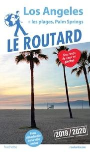 Le Routard - Los Angeles - Les plages, Palm Springs. 1 Plan détachable