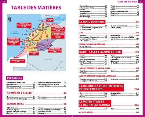 Maroc  Edition 2021-2022 -  avec 1 Plan détachable