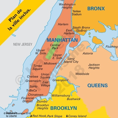 New York. Manatthan, Brooklyn, Queens, Bronx  Edition 2020