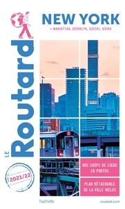 Le Routard - New York - Manatthan, Brooklyn, Queens, Bronx. 1 Plan détachable
