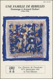 Guy Dugas et Alfred Eibel - Les Carnets de l'exotisme N° 9, Janvier-Juin 1 : Une famille de rebelles - Hommage à Armand Guibert (1906-1990).