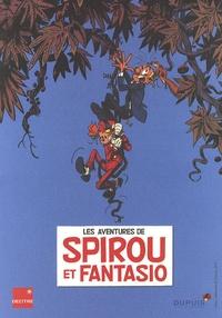 """Dupuis - """"1 exlibris offert"""" pour l'achat du tome 51 de Spirou et Fantasio - Un exlibris de Spirou et Fantasio sera joint gratuitement à votre colis."""