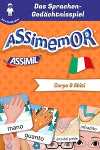 Léa Fabre et  Céladon - Assimemor -Meine ersten Wörter auf Italienisch: Corpo e Abiti.
