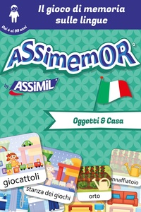 Léa Fabre et  Céladon - Assimemor -Meine ersten Wörter auf Italienisch: Oggetti e Casa.