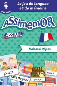 Léa Fabre et  Céladon - Assimemor – Mes premiers mots français : Maison et Objets.