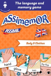 Léa Fabre et  Céladon - Assimemor – My First English Words: Body and Clothes.