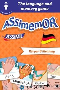 Léa Fabre et  Céladon - Assimemor – My First German Words: Körper und Kleidung.