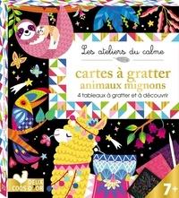 Léa Fabre - Cartes à gratter animaux mignons - 4 tableaux à gratter et à découvrir !.