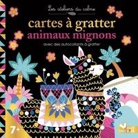 Léa Fabre et Cinzia Sileo - Cartes à gratter animaux mignons - 10 cartes à gratter, 4 planches de stickers dont 2 à gratter et 1 stylet.