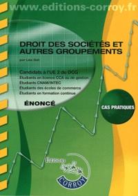 Léa Got - Droit des sociétés et autres groupements UE 2 du DCG - Enoncé.