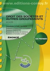 Droit des sociétés et autres groupements UE 2 du DCG- Enoncé - Léa Got pdf epub