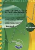 Léa Got et Pascal Lainé - Droit des sociétés et autres groupements UE 2 du DCG - Enoncé.