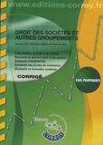 Léa Got et Pascal Lainé - Droit des sociétés et autres groupements UE 2 du DCG - Corrigé.