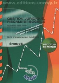 Gestion juridique, fiscale et sociale UE 1 du DSCG - Enoncés.pdf