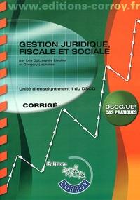 Gestion juridique, fiscale et sociale UE 1 du DSCG - Corrigé.pdf