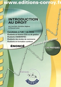 Introduction au droit UE 1 du DCG - Enoncé.pdf
