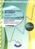 Léa Got et Christine Alglave - Introduction au droit UE 1 du DCG - Corrigé.