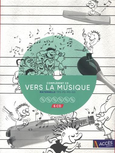 Léa Schneider - Complement CD Vers la musique maternelle. 6 CD audio