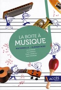 Léa Schneider et Tania Grimaldi - La boite à musique maternelle - élémentaire.