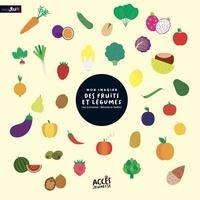 Léa Schneider et Bénédicte Sieffert - Mon imagier des fruits et légumes.