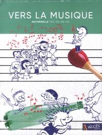 Léa Schneider - Vers la musique maternelle (TPS, PS, MS, GS). 6 CD audio