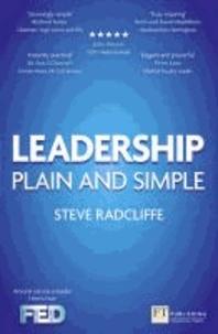 Leadership - Plain and Simple.