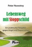 Lebensweg mit Stoppschild - Ein praktischer Ratgeber gegen Angst und Depressionen.