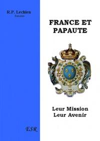 Etudes sur la providence - France et papauté - Leur mission et leur avenir.pdf