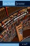 Anne Lanchon - Lecture Jeune N° 120, décembre 200 : La lecture est-elle une activité réservée aux adolescentes ? - Actes de la journée d'étude du 5 octobre 2006.