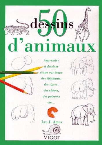 50 Dessins D Animaux Apprendre à Dessiner étape Par étape Des éléphants Des Tigres Des Chiens Des Poissons Etc